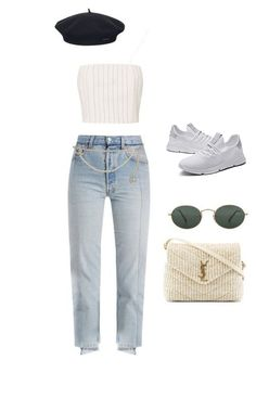 Tiosebon Casual Sneakers-CA Cute Workout Outfits, Cute Outfits For School, Trendy Outfits, Summer Outfits, All About Fashion, Love Fashion, Korean Fashion, Everyday Outfits, Everyday Fashion