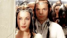 I love Elrond's face. I NEVER NOTICED!!! IT LOOKS LIKE HE'S GOING TO CRY!!