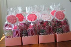 bachelorette party giftbags, minus the alcohol cause all my maids are underage or pregnant :)