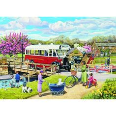 The Old Swing Bridge Jigsaw Puzzle from Jigsaw Puzzles Direct - Order today and Get Free Delivery