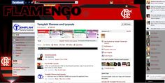 Tema para Facebook do Flamengo
