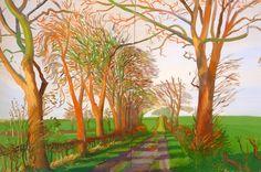 The Tunnel, David Hockney