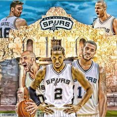 The San Antonio Spurs. #GoSpursGo #SpursNation #RaceForSeis