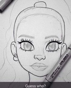 Craving more? Pretty Drawings, Cool Drawings, Drawing Sketches, Sketching, Drawing Ideas, Pencil Art, Pencil Drawings, Dope Art, Drawing People