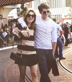 I adore them so much! Crystal Reed & Daniel Sharman <3
