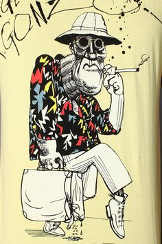 Ah, yes. The Good Doctor, by way of Ralph Steadman.