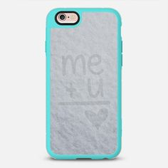 Me and You - New Standard Case. $10 off your first order @Casetify using code: ZN4AQG #casetify #case #iphonecase #phonecover #discount #offer #discountcode #snow #winter #cold #love #heart