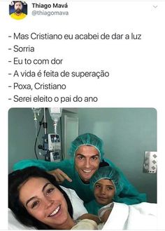 In case you didn't see enough Cristiano Ronaldo memes: Wtf Funny, Funny Memes, Jokes, Cristiano Ronaldo Memes, Sao Memes, Kids On The Block, Bad Mood, Love Memes, Simpsons