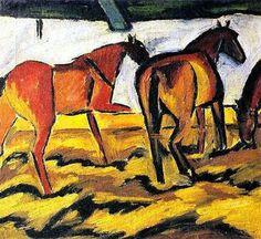 Horses+-+David+Burliuk
