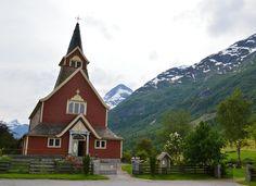 Olden Church - Olden, Norway