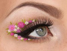 23 Stunning and Unique Eye Makeup Ideas 10 - https://www.facebook.com/different.solutions.page