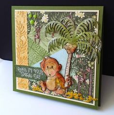 Bananas by DJRants - Cards and Paper Crafts at Splitcoaststampers #heartfeltcreations