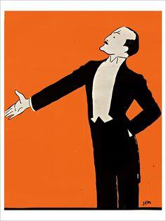 Victor Boucher - Affiche d'Art de la collection vintage de Slap!