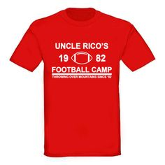 Uncle Rico's Football Camp TShirt. Napoleon Dynamite by TSL21, $18.00
