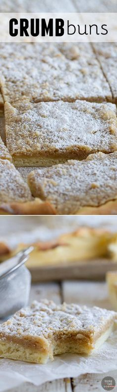 A rich dough is made into a crust that is topped with lots of streusel in this Crumb Buns. Plus a review of A Jewish Baker's Pasty Secrets.