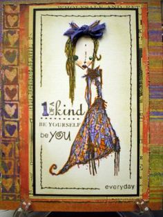 One of a kind by Kathy Rosecrans - Cards and Paper Crafts at Splitcoaststampers