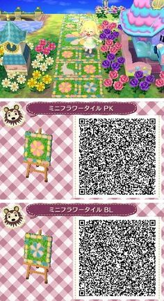 wolves-crossing: (via ♪ mini flower tile fairy tale to [Animal Crossing Tobidase] …: Twitter / _sa_wa_ra_)