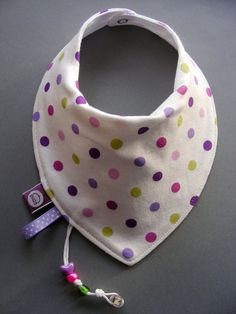 Baby bib, Dribble bib, Bandana bib, Neck scarf... by pupaforkids.  How cute is this bib!