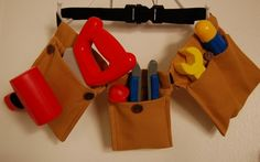 A Tool Belt DIY - This one is my fave I've seen so far