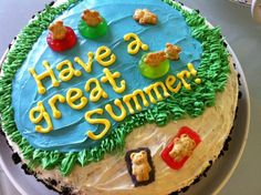 Summer cake (picture only)