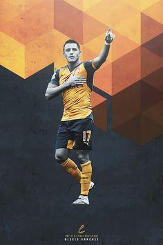 Alexis Sanchez. Lock screen. Alexis Sanchez, World Rugby, Arsenal Fc, Ronaldo, Premier League, Soccer, Posters, Game, Diy