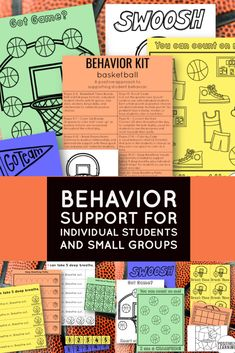 Has March Madness reached your classroom a little early? Behavior Kits are designed to support individual students and small groups with a focus on positive reinforcement. Visuals and motivating themes are featured to celebrate student success throughout the school day. #marchmadness #behavior #classroommanagement