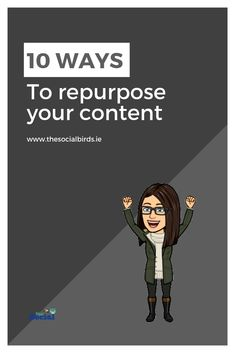 Never run out of #content ideas again with our 10 ways to repurpose content you already have! Save time and effort!