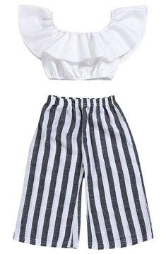 New Fashion Kids Style Pants 68 Ideas Baby Girl Pants, Toddler Pants, Girls Pants, Little Girl Dresses, Baby Girls, Baby Boy, Dresses For Girls, Kids Girls, Baby Girl Tops