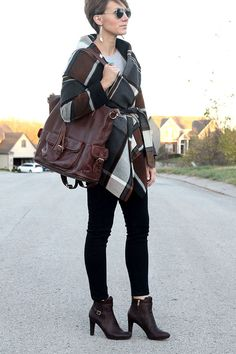 Gorgeous outfit to transition winter to fall