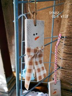 Simply Adorable Snowman Ornaments