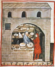 14.+Jahrhundert+-+Hausbuch+d.+Cerruti+/+Alter+Käse