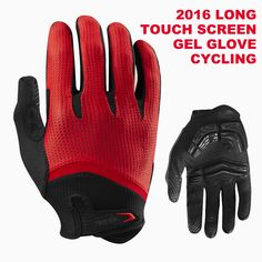 7bb3074e37 FIRELION Long Finger Cycling Glove Gel Mountain Bike Bicycle Gloves for Man  MTB BMX DH Off Road Motocross Gloves-in Cycling Gloves from Sports ...