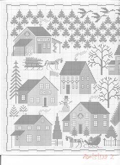 Christmas Village • 3/5 LHS Chart