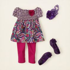 baby girl - outfits - jegging joy - pretty in paisley | Children's Clothing | Kids Clothes | The Children's Place