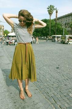 #maxi skirt. Midi #Skirt