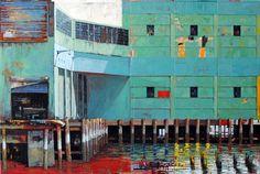 // New York, Pier No. 2 by Catherine Mackey