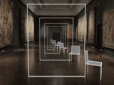 London Design Festival 2012. Nendo Mimicry Chairs en el VA Museum