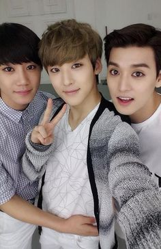 Jun, Kevin and Eli - U-Kiss (i think jun looks good and i can't wait for his image and personality to show through)