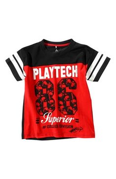 Seje PLAYTECH by Name it T-shirt Petro Rød PLAYTECH by Name it T-shirt til Børn & teenager i behagelige materialer