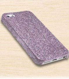 DIY Glitter Cell Phone Case | Create your own cell phone case | Find glitter and glue from Joann.com