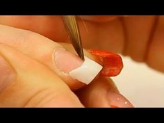 Correct Acrylic Application (Zone 1) Free Edge and Smile Line Tutorial Video by Naio Nails