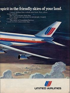 c11ac2feeb United Airlines 747 service. Airline Logo