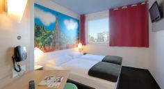 Zweibettzimmer im B&B Hotel Freiburg-Süd