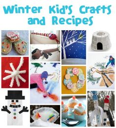 Winter Crafts and Recipes - Fun Family Crafts