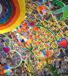 The Tarot Garden of Nicky de Saint Phalle. a fantastic caleidoscopic world in Maremma, Tuscany, Italy
