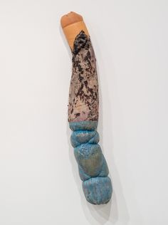 Gavin Kenyon, Untitled, 2013 Plaster, fur, pigment 53 x 10 x 6 inches (134.6 x 254. x 15.2 centimeters)