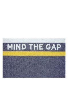 Home Mania Zerbino Mind The Gap Grigio 40 x 60 cm su Amazon BuyVIP