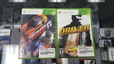 Driver: San Francisco & Need For Speed: Hot Pursuit (Microsoft Xbox 360)