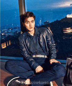 Super Junior Choi Siwon Esquire March 2015