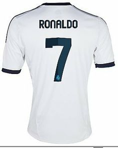 #7 RONALDO Real Madrid Home 2012-13 Kid Soccer Jersey & Matching Short Set - For Youth Age: 8-10 Years Old World Soccer Maniac. $34.99
